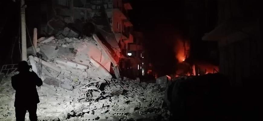 İdlib'de katliama devam eden Rusya gece yarısı hastane bombaladı