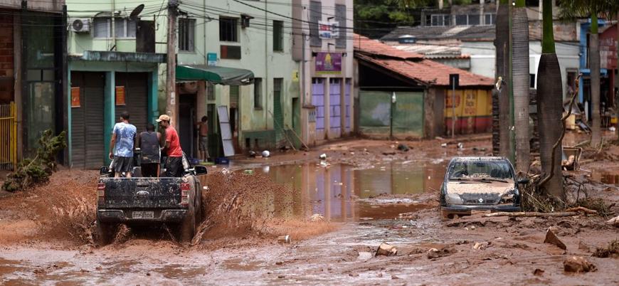 Brezilya'da bir haftadır süren aşırı yağışlarda ölü sayısı 64'e yükseldi