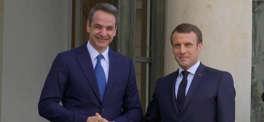 Fransa Türkiye'ye karşı Yunanistan'ı desteklemek için savaş gemileri gönderiyor