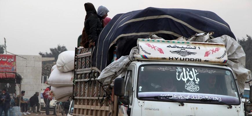 Rusya ve İran'ın saldırdığı İdlib'de milyonlarca Suriyeli Türkiye sınırına göç edebilir