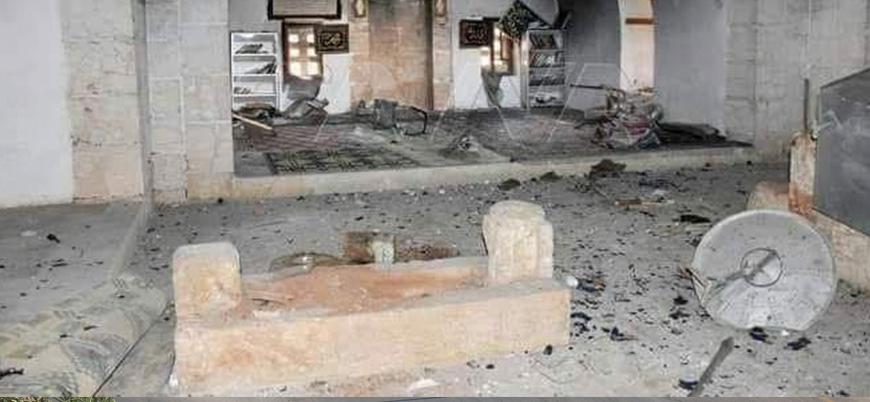 Rusya ve İran destekli Şii milisler Ömer bin Abdulaziz'in türbesini ateşe verdi