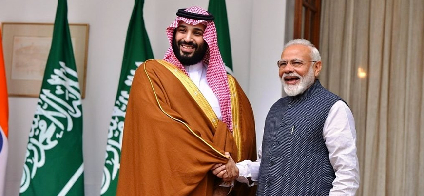 Hindistan Suudi Arabistan ile ticareti artırmak istiyor
