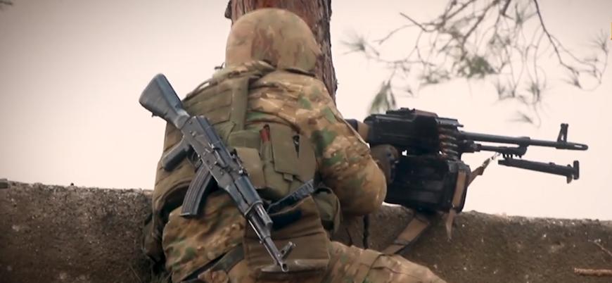 Türkistanlı savaşçılar Halep cephesinde Rusya ve İran destekli Esed güçlerine karşı savaşıyor