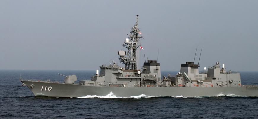 Japonya Umman Körfezi'ne savaş gemisi gönderiyor