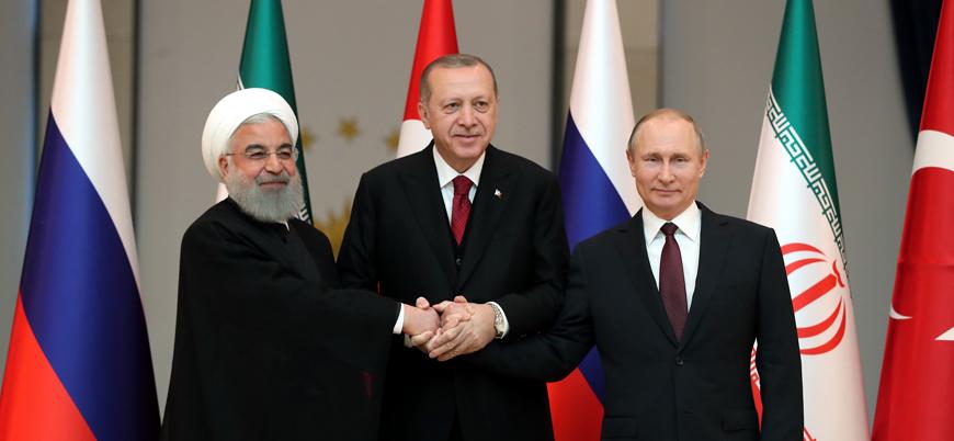 """Erdoğan'dan """"Astana ve Soçi mutabakatlarına dönüş"""" çağrısı"""