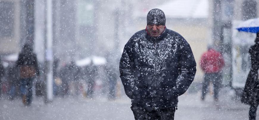 Meteorolojiden sağanak ve kar yağışı uyarısı