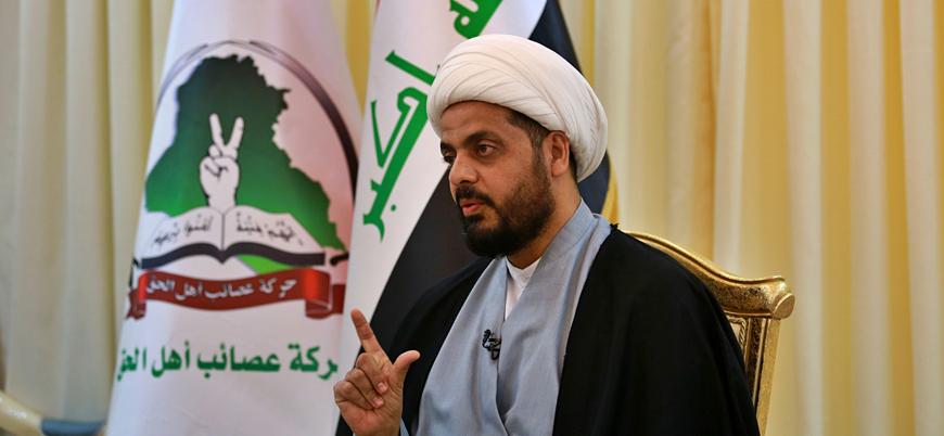 """""""İran destekli Şii örgüt Asaib Ehlil Hak'ın lideri Kays Hazali öldürüldü"""""""