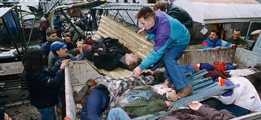 Saraybosna Markale Katliamı'nın 26'ncı yılı