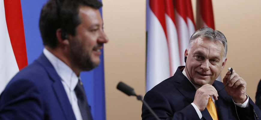 Avrupa Birliği karşıtı aşırı sağcı liderler Roma'da buluştu