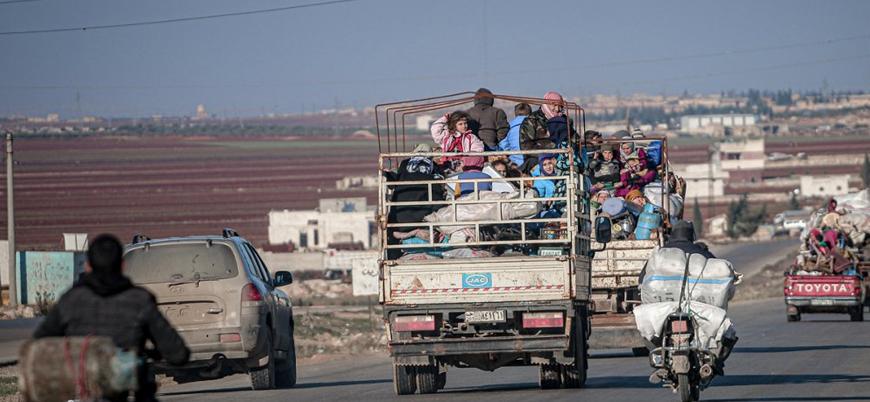 BM: Son iki ayda 500 bin kişi İdlib'i terk etti