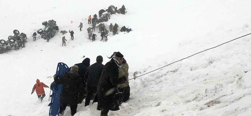 Van'daki çığ faciasında 33 kişi hayatını kaybetti
