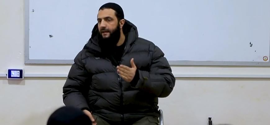 HTŞ lideri Cevlani'den Suriye'de son duruma ilişkin açıklama