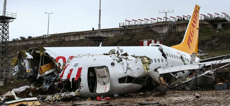Sabiha Gökçen'de kırıma uğrayan uçağın pilotlarına soruşturma