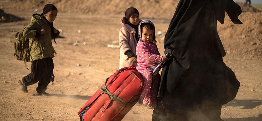 Aileleri IŞİD bağlantılı olan 35 yetim çocuk Rusya'ya iade edildi