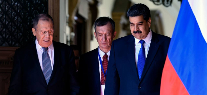 Rusya'dan Venezuelalı lider Maduro'ya destek