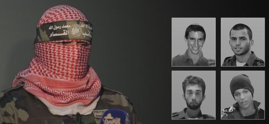 Kassam Tugayları sözcüsünden Gazze'deki İsrailli rehinelere dair açıklama