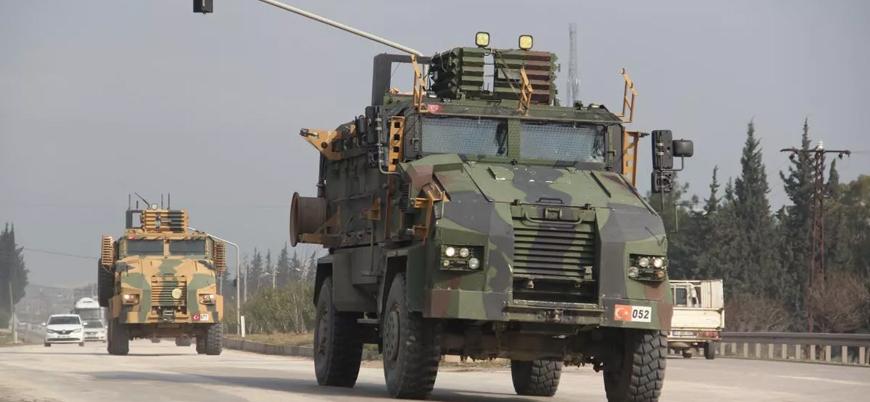 TSK'dan çatışmaların sürdüğü İdlib'e 330 araçlık askeri konvoy