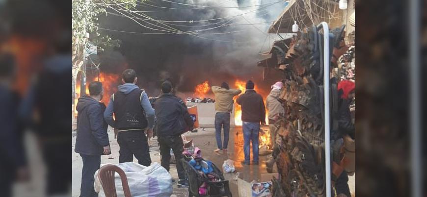 Afrin kent merkezinde bombalı saldırı