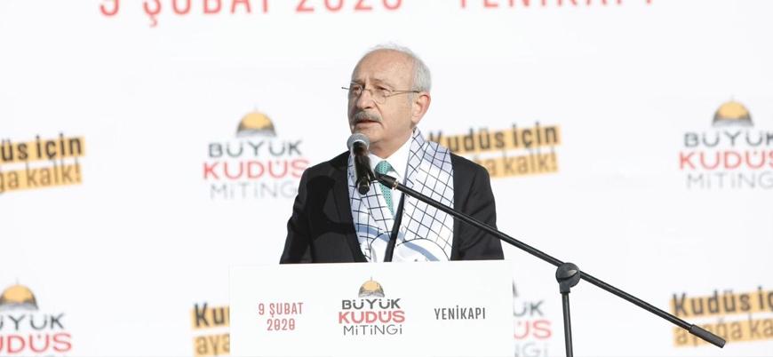 Kılıçdaroğlu Kudüs Mitingi'nde konuştu: Allah'ın izniyle Haçlı seferlerini boşa çıkaracağız