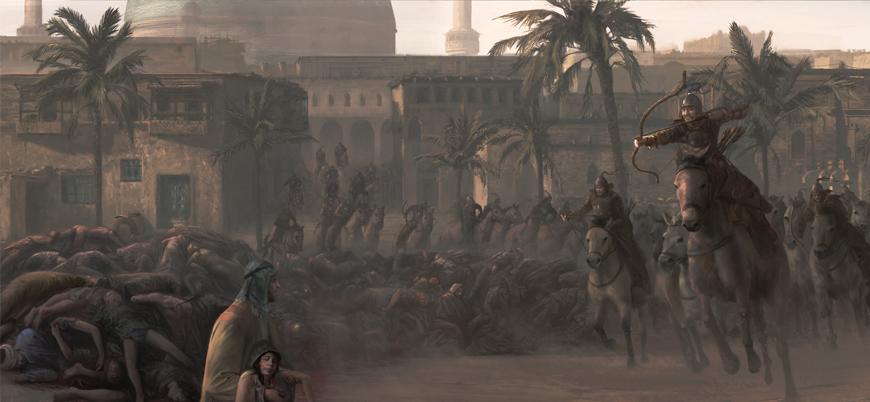 10 Şubat 1258: Moğollar Bağdat'ı yok etti