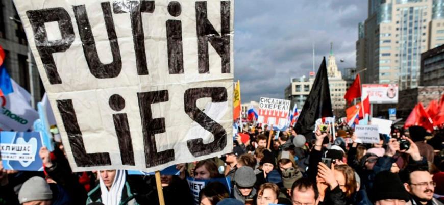 Putin Rusyası'nda muhalif aktivistlere 18 yıl hapis cezası
