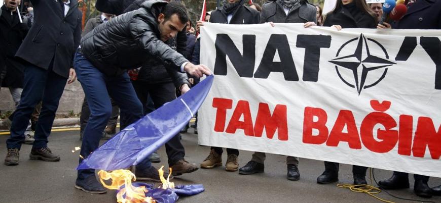 NATO'ya en olumsuz bakan üye ülke Türkiye