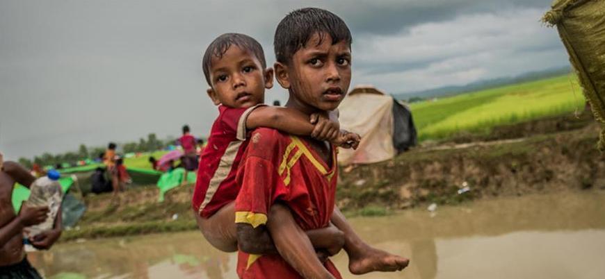 Arakanlı Müslümanlar koronavirüs ve şiddetli fırtına tehdidiyle karşı karşıya