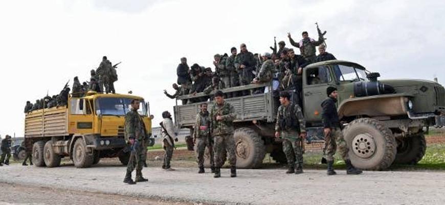 Rusya destekli Esed rejimi İdlib'e askeri yığınak yapıyor