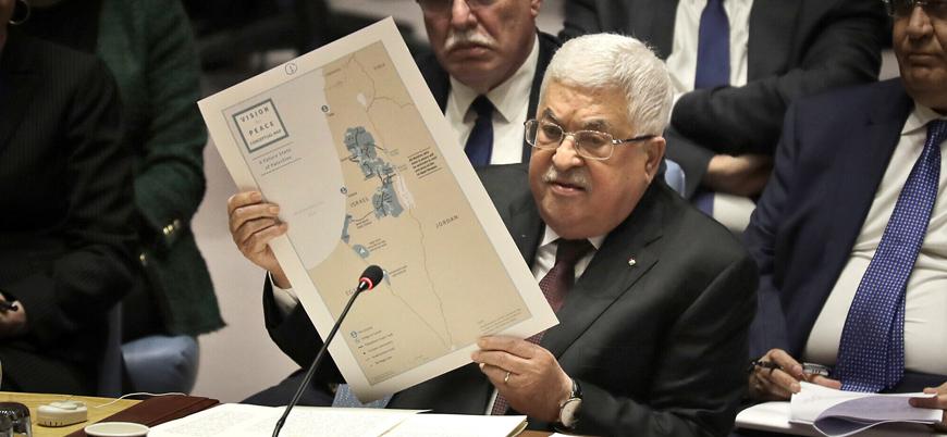 Abbas BM'de Trump'ın Filistin planını reddetti