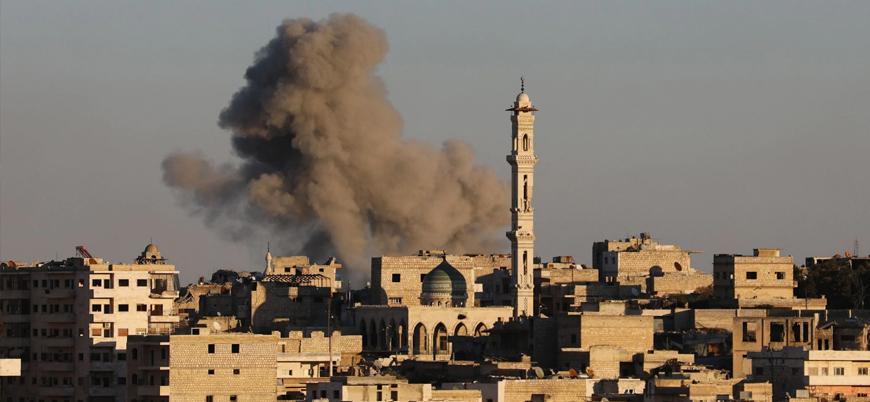 Rusya ve Esed rejimi Halep kırsalında sivil alanlara saldırıyor