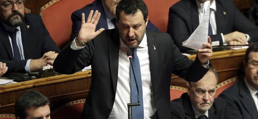 Göçmenlere karşı sert tavrıyla bilinen İtalyan siyasetçi Salvini'nin dokunulmazlığı kaldırıldı