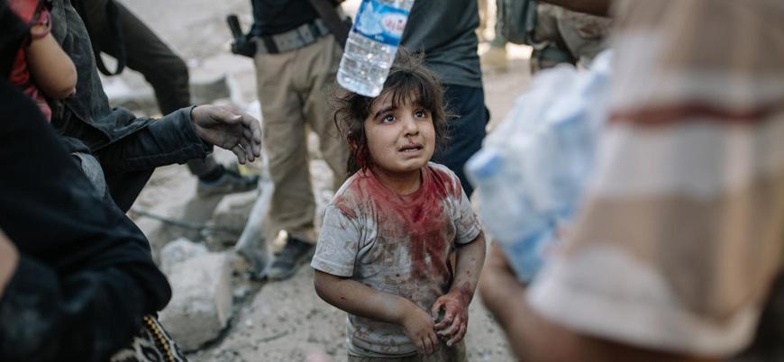 Dünyada her 6 çocuktan biri savaş bölgesinde yaşıyor