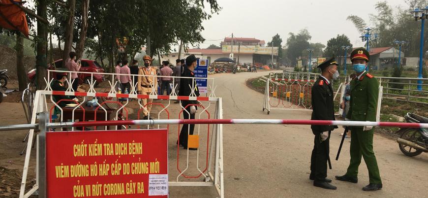Vietnam'da 10 bini aşkın insanın yaşadığı yerleşim koronavirüs nedeniyle karantinaya alındı