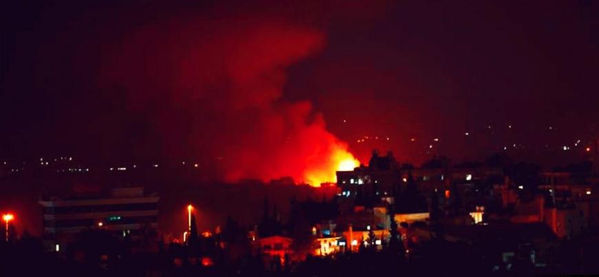 """""""İsrail'den Halep'te hava saldırısı"""""""