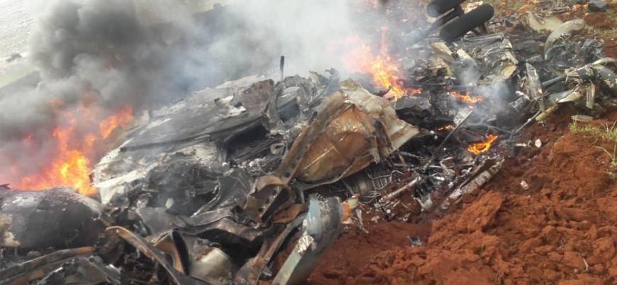 Suriyeli muhalifler Halep'te bir helikopter daha düşürdü
