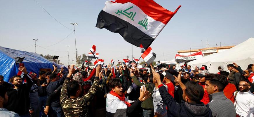 Irak'ta Sadr destekçilerinden protesto