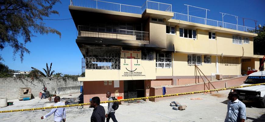 Haiti'de yetimhanede yangın çıktı: 15 çocuk öldü