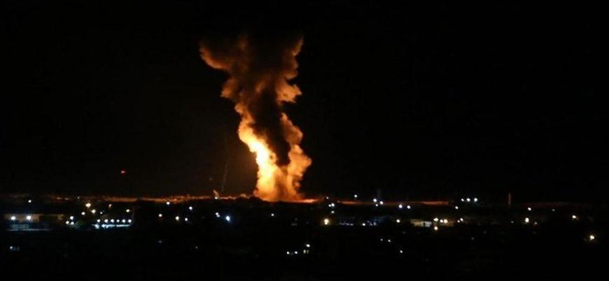 İsrail'den Hamas'a hava saldırısı