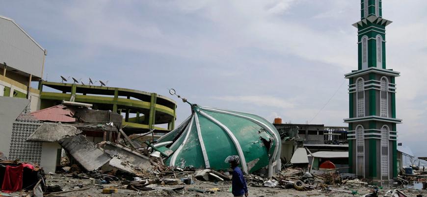 Endonezya'da 5.8 büyüklüğünde deprem