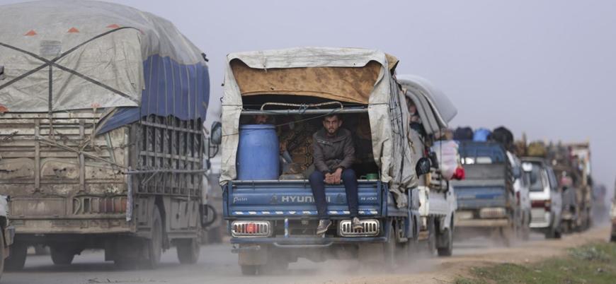 İdlib ve Halep'ten kaçan sivillerin sayısı bir milyonu aştı