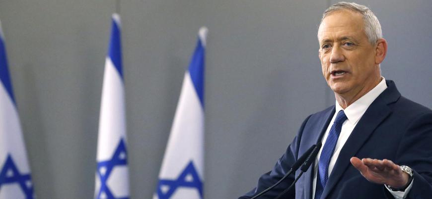 Gantz: Kuracağım hükümette Netanyahu olmayacak