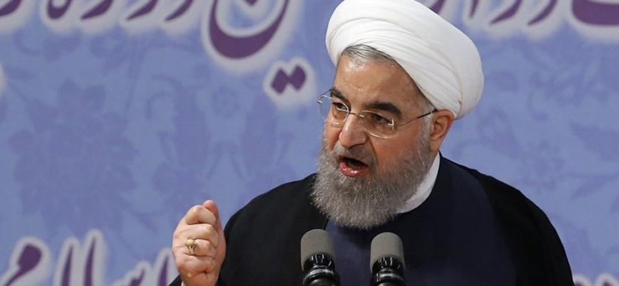 İran Cumhurbaşkanı Ruhani: ABD baskısına boyun eğmeyeceğiz