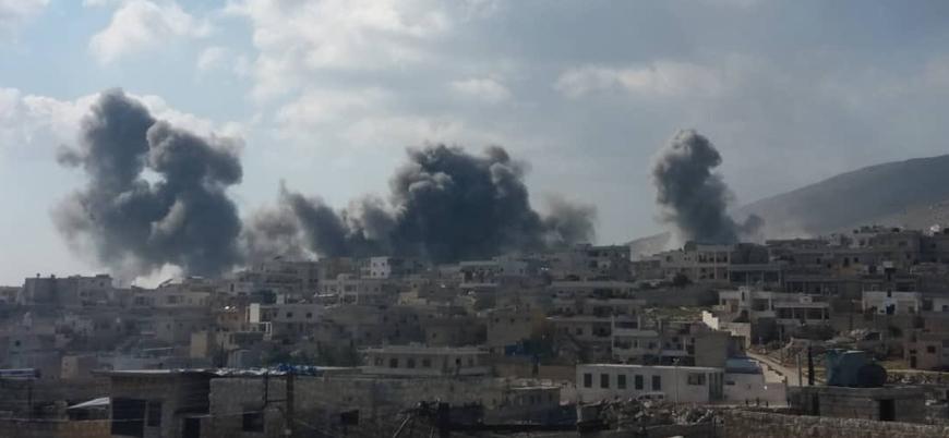 Rusya Halep'te hastaneleri savaş uçaklarıyla vurdu