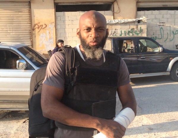 Sosyal medyadan değil savaş meydanından: Gazeteci Bilal Abdulkerim