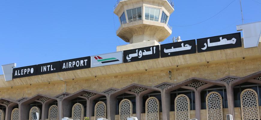 Halep Havalimanı 9 yıl sonra ilk kez faaliyete geçiyor