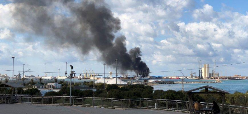 """""""Libya'da Hafter güçleri Türk gemisini vurdu"""""""