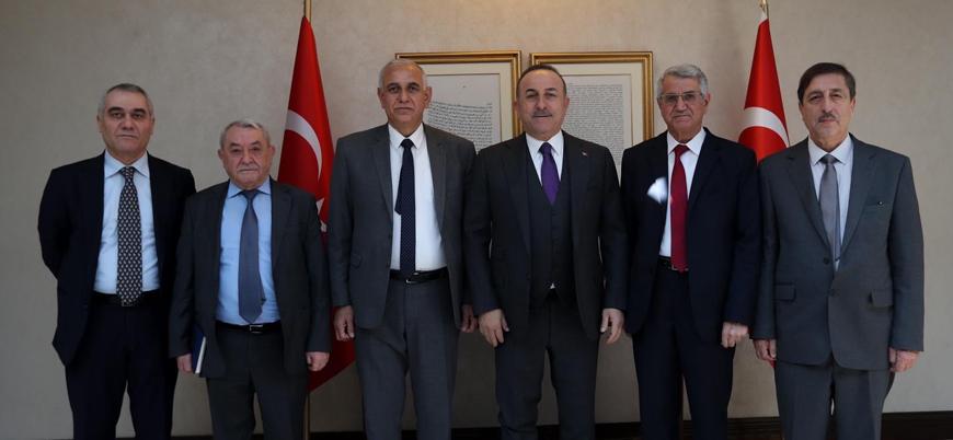 Çavuşoğlu Suriye Kürt Ulusal Konseyi heyetiyle bir araya geldi: Kürtlere en büyük zararı YPG/PKK verdi