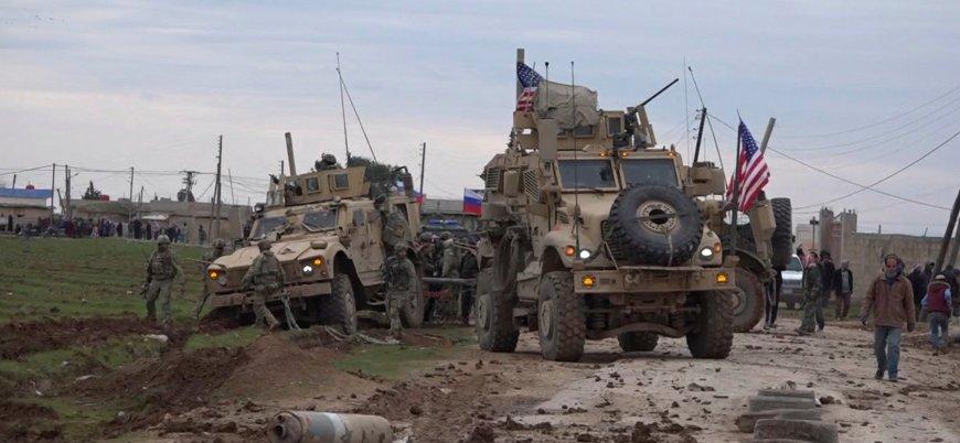 Suriye'de ABD ve Rus devriyeleri arasında 'yol verme' gerilimi