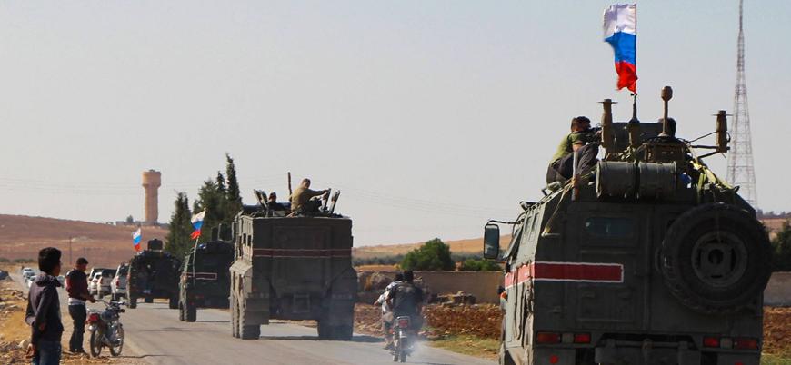 Rus birlikleri Halep'te devriye gerçekleştirdi