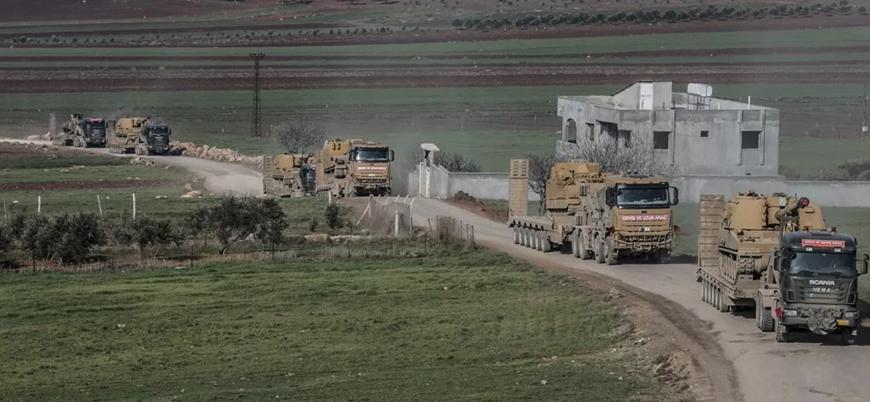 Türkiye'nin İdlib'e askeri sevkiyatı devam ediyor
